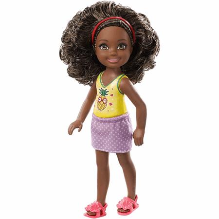 Barbie Club Chelsea Doll Black Hair