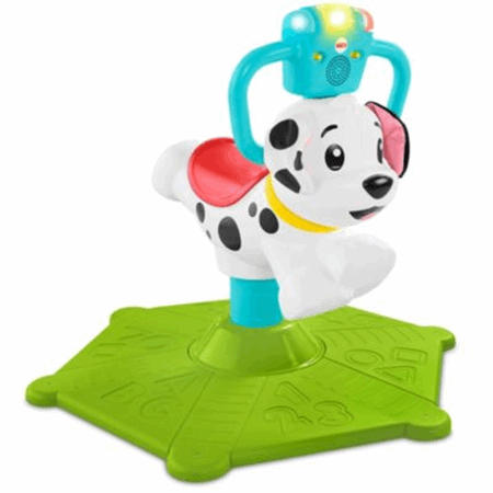 Bounce And Spin Puppy Fisher Price
