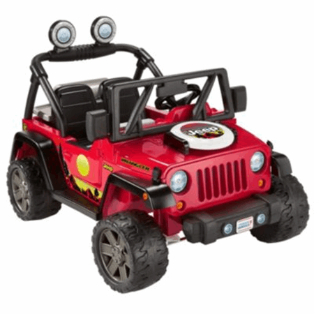 Power Wheels Bbq Fun Jeep Wrangler Ride On Fisher Price