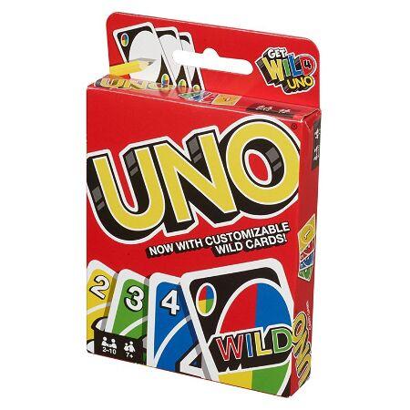 Uno Card Game 42003 Mattel Shop