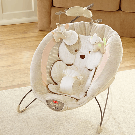 My Little Snugapuppy Deluxe Bouncer X7313 Fisher Price